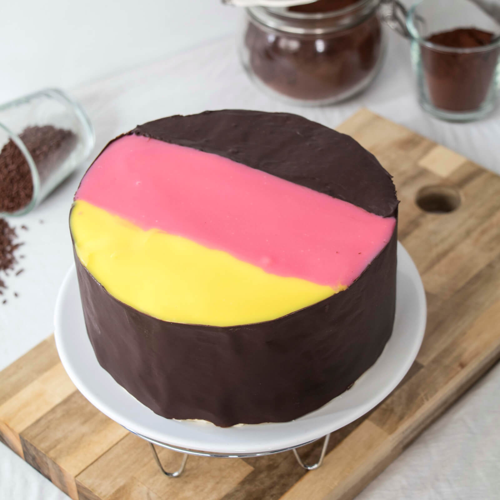 Danube-Wave-German-Flag-Cake-Donauwelle-Torte-Deutschland-Flagge (9)